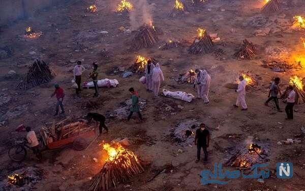سوزاندن اجساد کرونایی
