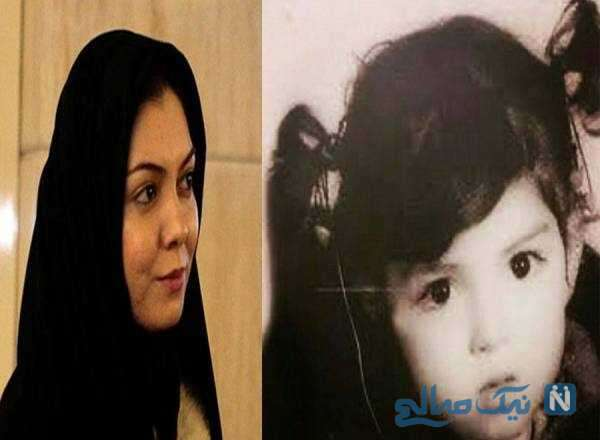 کودکی خانم مجری
