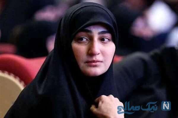 زینب دختر شهید سلیمانی