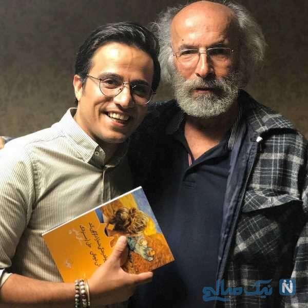 کارگردان مشهور در کنار آقای بازیگر