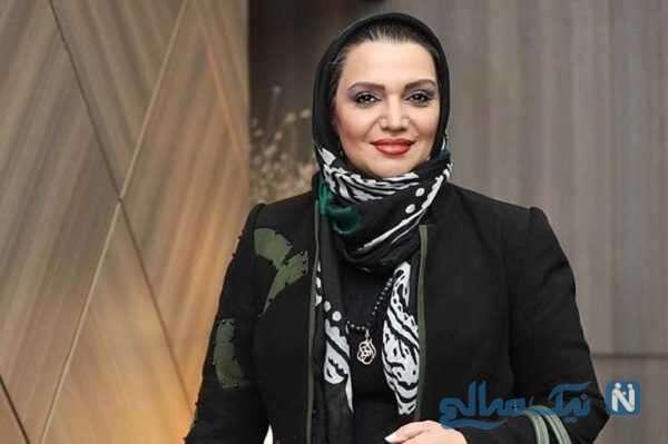 شقایق دهقان و الهام پاوه نژاد بازیگر ایرانی در مراسم یادبود آزاده نامداری