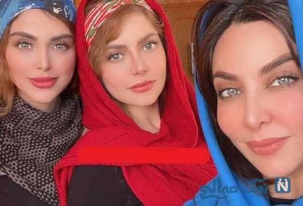 شباهت فقیهه سلطانی به خواهرانش