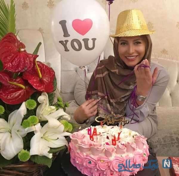 جشن تولد فریبا نادری بازیگر