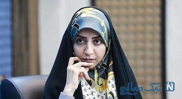 فضه سادات حسینی گوینده خبر