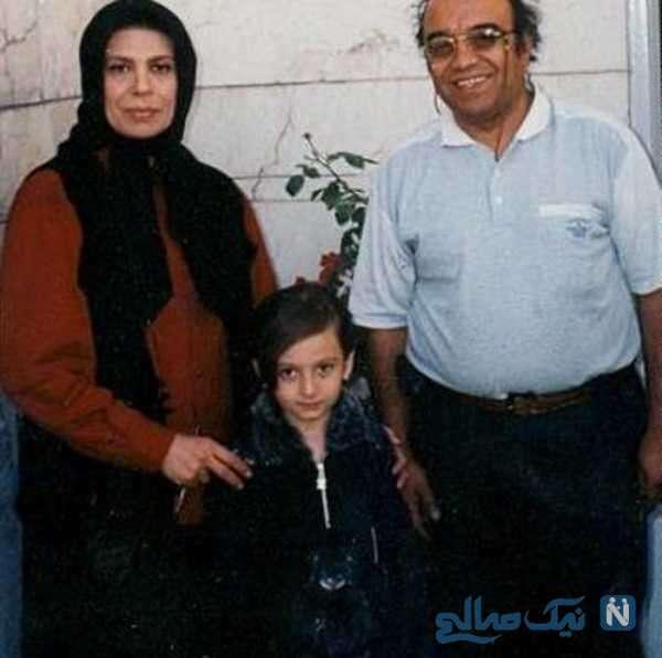 گوهر خیراندیش و همسرش مرحوم اسماعیل خانی