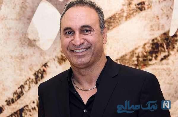 حمید فرخ نژاد بازیگر سریال میدان سرخ و پسرش در خارج از کشور