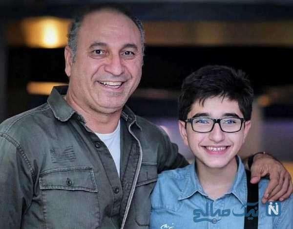 حمید فرخ نژاد پسرش فربد