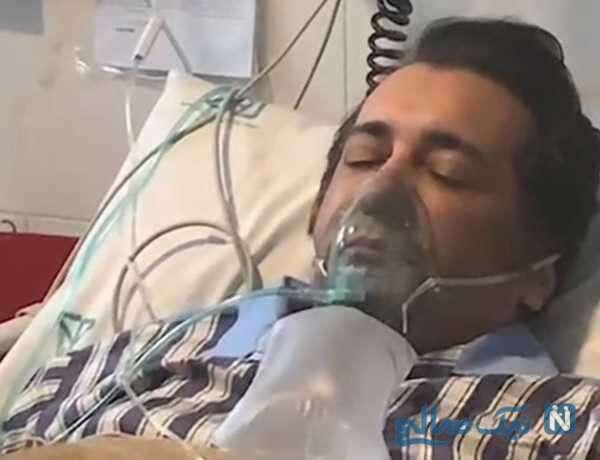 حسام نواب صفوی بازیگر سینما در سی سی یو