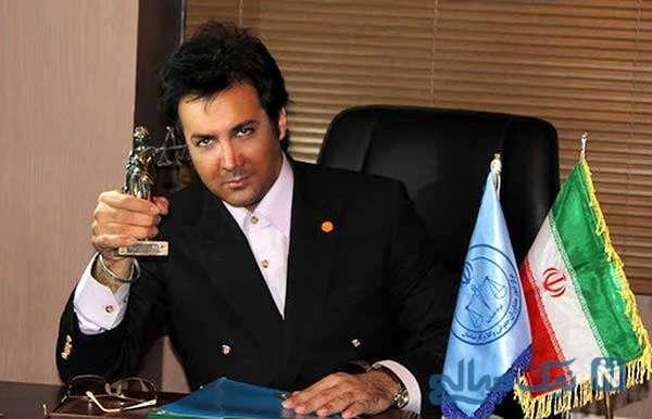 تعلیق حسام نواب صفوی بازیگر از وکالت به دلیل داشتن شاکی خصوصی