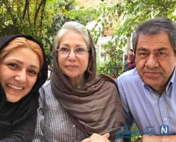 پدر و مادر باران کوثری بازیگر ایران