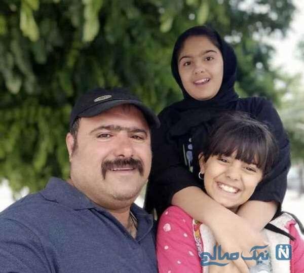 بازیگر معروف و دخترانش