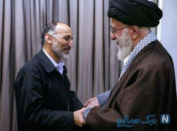 رهبر انقلاب و سردار حجازی
