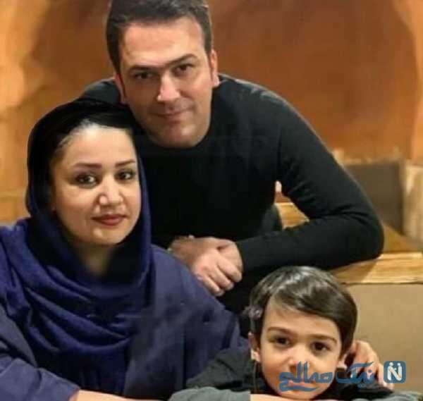 همسر و پسر حامد آهنگی