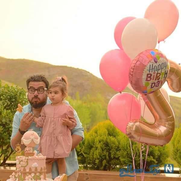 جشن تولد لاکچری دختر محسن کیایی