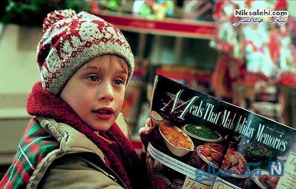 کوین مک آلیسر در فیلم تنها در خانه با بازی مکالی کالکین