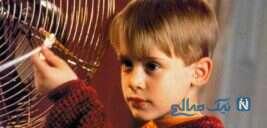 بازیگر تنها در خانه در ۴۰ سالگی پدر شد و نام خاص فرزند او