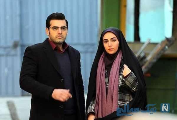 محمدرضا رهبری و مهشید جوادی در بچه مهندس ۴