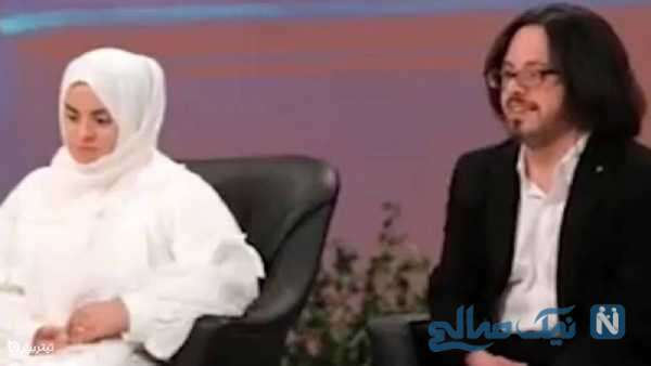 مهران قندهاری پایتخت و همسرش