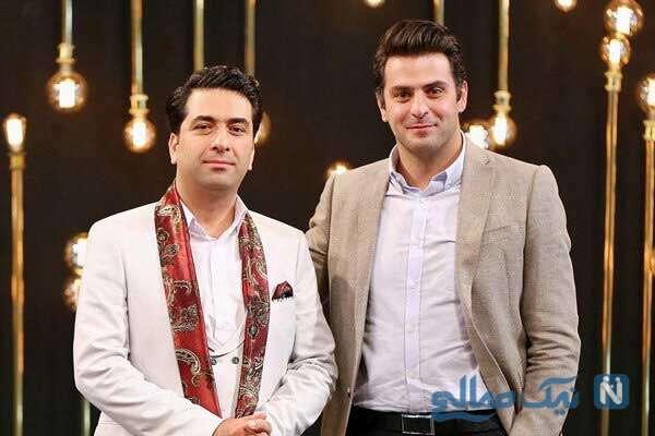 علی ضیا و خواننده معروف