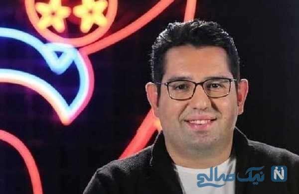 محمدرضا احمدی مجری از نحوه آشنایی با همسر شناگرش می گوید