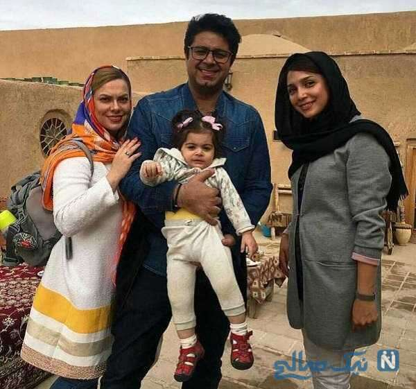 حجت اشرف زاده و همسرش