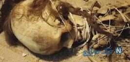 اسکلت مومیایی عجیب بی بی حیات زن ۱۳۰۰ ساله در یزد