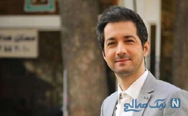 نجم الدین شریعتی مجری سمت خدا و پسرش در حرم امام علی نجف اشرف