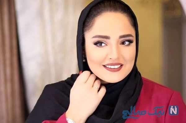 جشن تولد نرگس محمدی با کیک زیبا در کنار بازیگران معروف زن