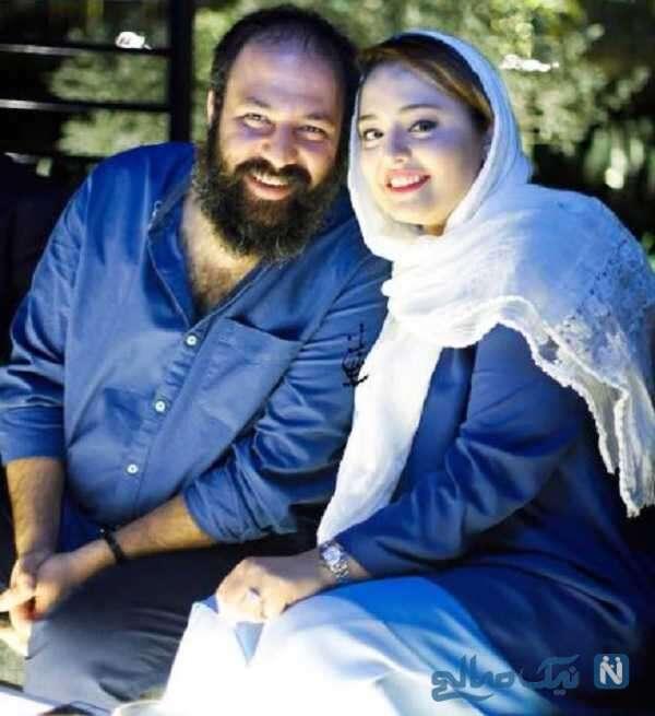 نرگس محمدی بازیگر ایرانی و همسرش