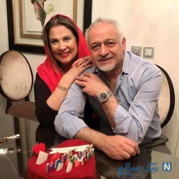 تصویری از مجید مشیری وهمسرش