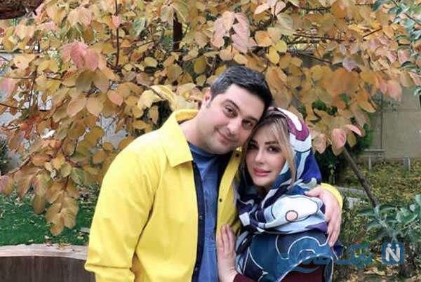 عکس جدید نیوشا ضیغمی با همسرش
