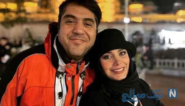 عکس جدید از صبا راد و همسرش