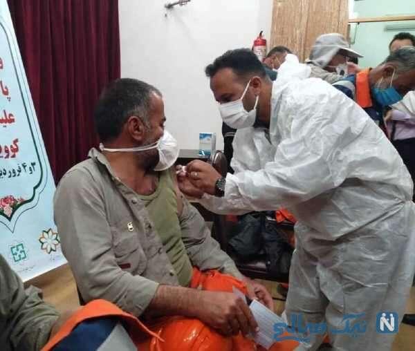مرگ پاکبان مشهدی بعد از تزریق واکسن کرونا