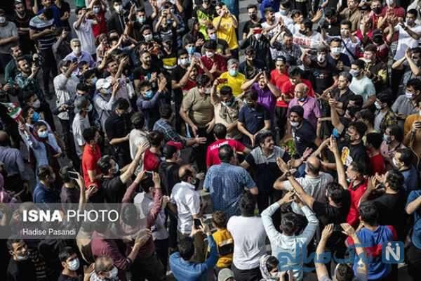 ازدحام مردم در کرونا