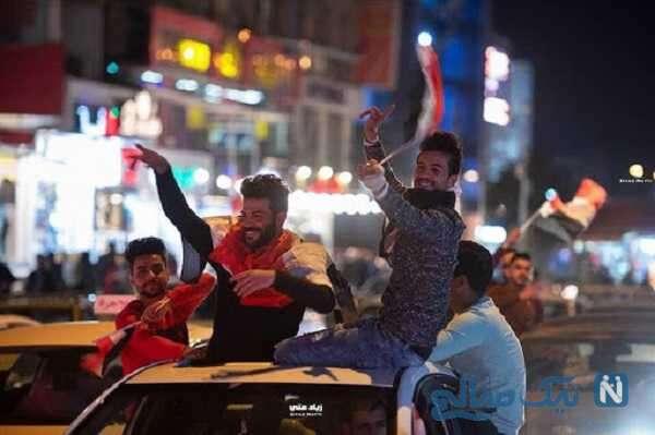 جشن مردم گرگان در خیابان ها با شرایط خطرناک و قرمز کرونایی