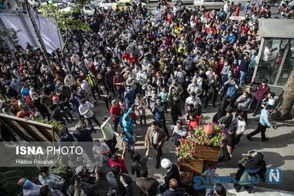 جشن مردم گرگان در شرایط کرونایی