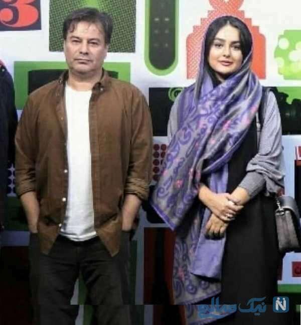 پیمان قاسم خانی و همسرش میترا ابراهیمی