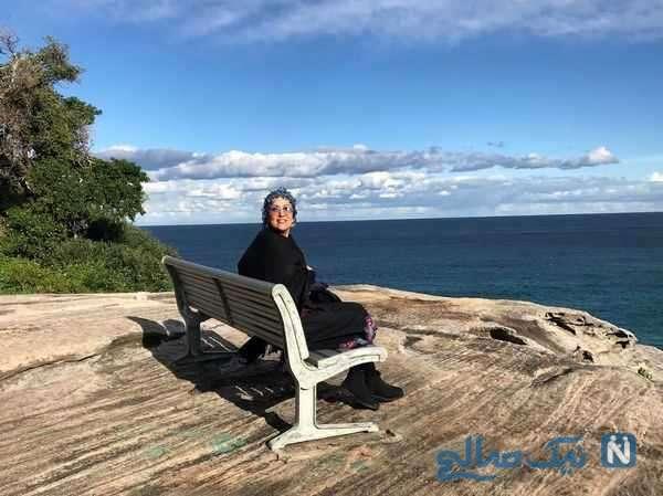 پانته آ بهرام در سواحل سیدنی
