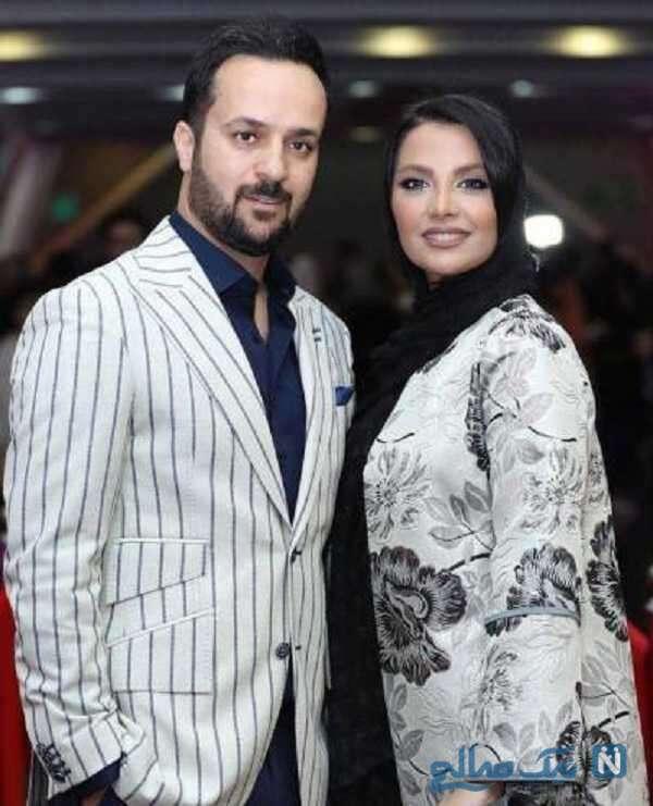 احمد مهران فر بازیگر پایتخت و همسرش