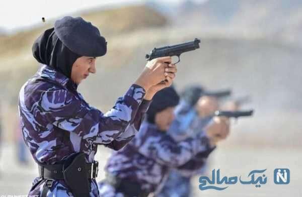 تصاویری از حضور پلیس زن در مسجد جامع مکه برای اولین بار