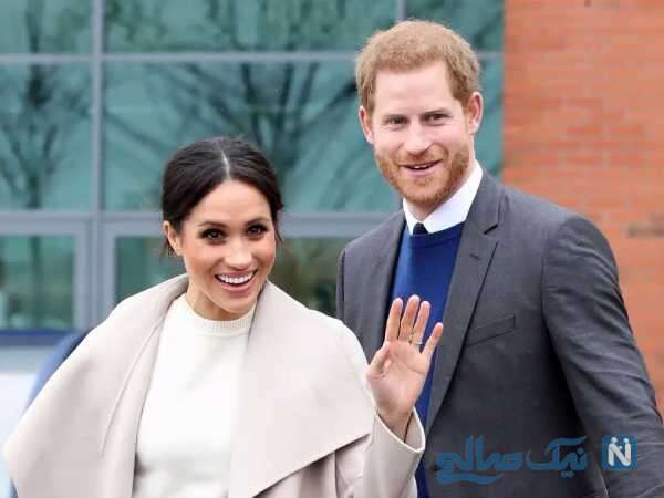 پرنس هری و همسرش مگان مارکل