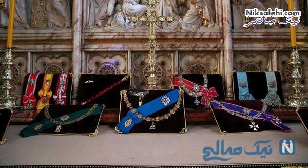 مدال ها و افتخارات دوک ادینبرو