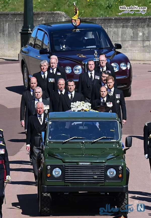 مراسم خاکسپاری پرنس فیلیپ