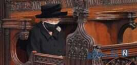 مراسم خاکسپاری پرنس فیلیپ شوهر ملکه الیزابت در قاب تصویر