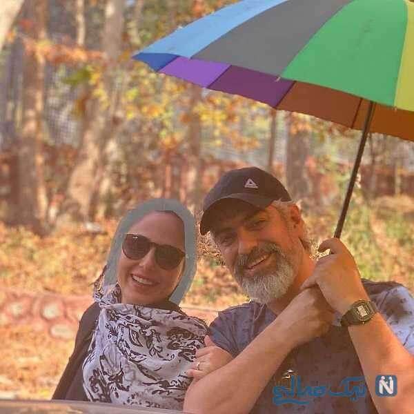 همسر جدید مهدی پاکدل