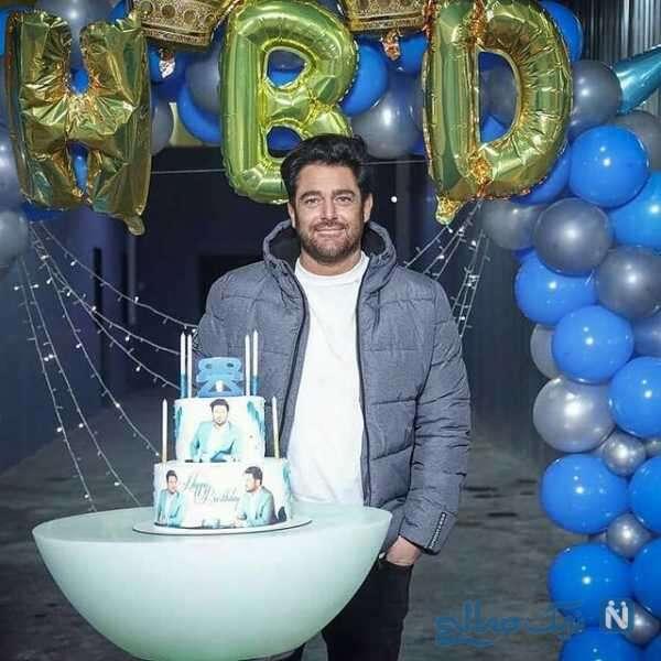 جشن تولد محمدرضا گلزار