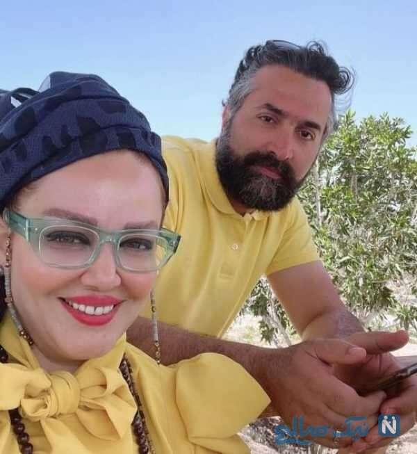 عاشقانه های بهاره رهنما و همسرش