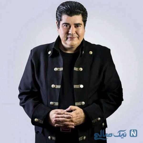 تصویری از سالار عقیلی خواننده ایرانی