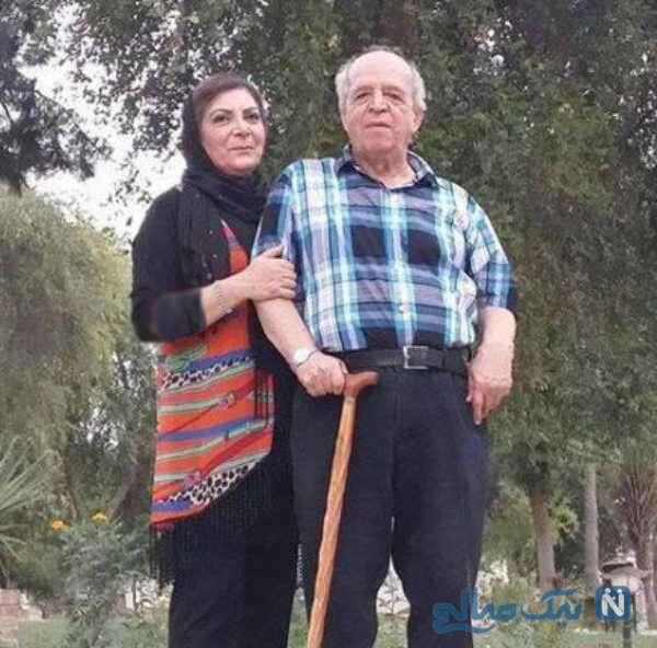 محسن قاضی مرادی و همسرش