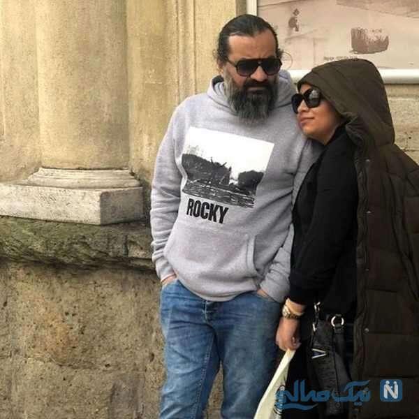 مهراب قاسم خانی و دخترش